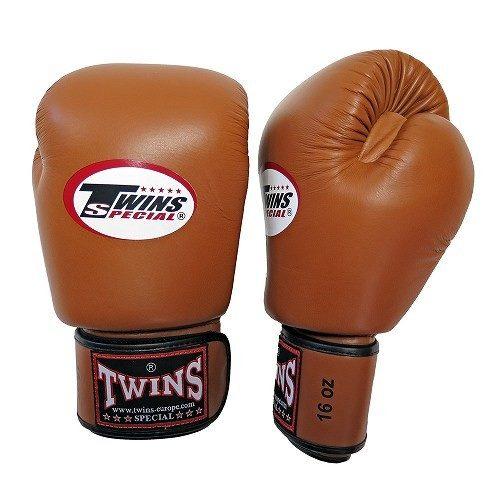 twins bokshandschoen leder retro
