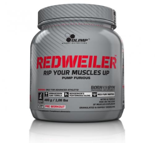 redweiler pre workout