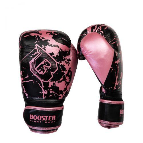 booster bokshandschoen marble pink