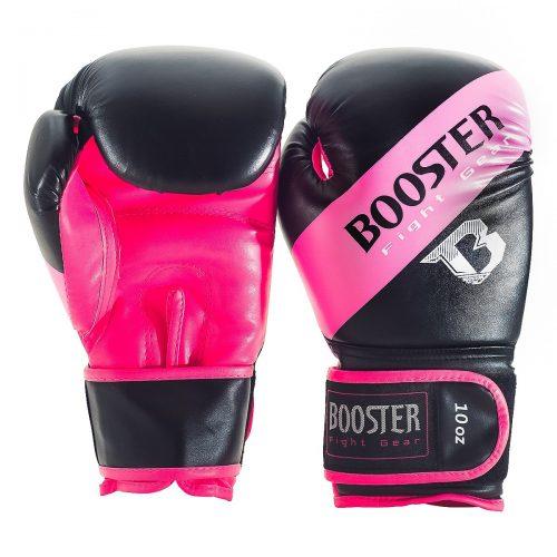 Booster bokshandschoen sparring pink stripe